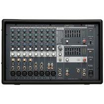 Mesa De Som Amplificada Yamaha Emx512sc 12 Canais C/ Efeitos