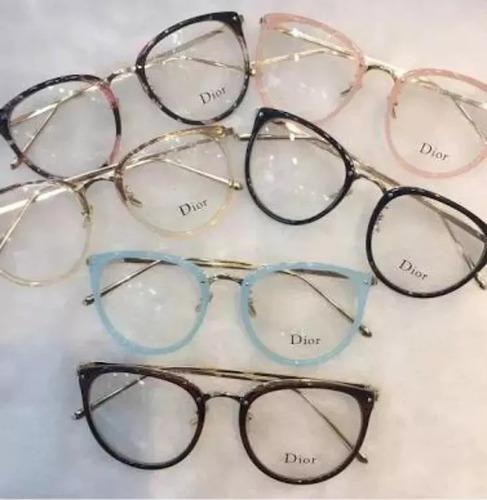 Óculos Feminino Armação Grau Geeek Quadrado Vintage - R  39 en ... 5980bba8f8