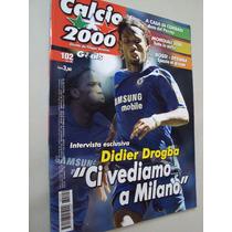 Revista Futebol Calcio 2000 102 2006 Mundial 2006 Euro 2012