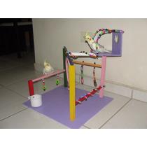 Playground Para Aves (calopsitas, Periquitos, Papagaio..) 04