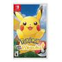 Pokémon: Let's Go, Pikachu! Físico Nintendo Switch Original