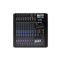 Ritmus : Alto Zmx124fxu : Mixer De 12 Canais Com Efeitos Usb