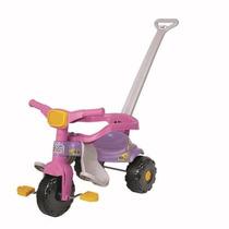 Motoquinha Infantil Triciclo Festa Magic Toys Rosa