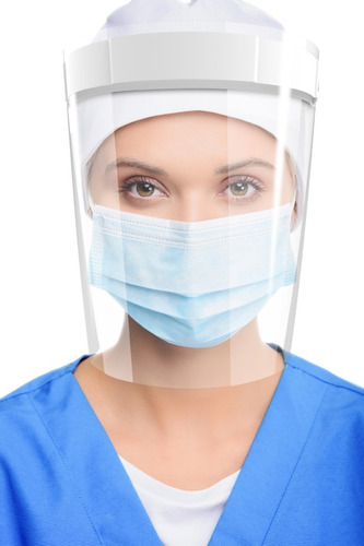 Máscara Facial Protetora Anti-cuspir Face Shield