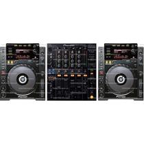 Kit Cdj900 + Mixer900 Pronta Entrega É No Territorio Dos Djs