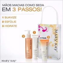 Kit Mãos De Seda Satin Hands® Livre De Fragrancia Mary Kay