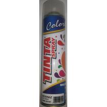 Kit 10latas Tinta Spray Verniz Secagem Rapida Multiuso 400ml