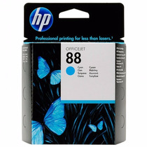 Cartucho Hp 88 Original Azul - 13ml C9386al