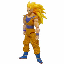 Dragon Ball Z Son Goku Super Sayajim 1 Totalmente Articulado