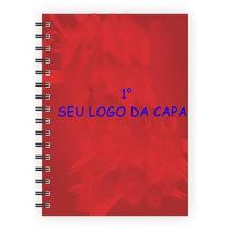 Caderno Capa Dura, Personalizada 10 Materias 200 Folhas