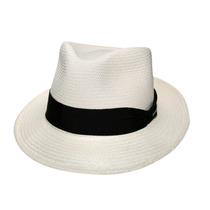 Chapéu Panamá Pralana Jobim-marfim-tamanho 57