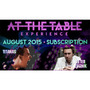 At The Table August 2015 Subscription Video