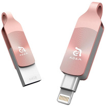 Pen Drive Elements Adam Iklips Duo 64gb Ouro Rosa Para Iphon