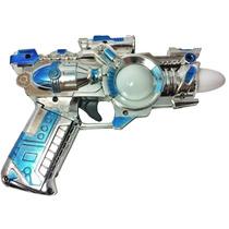 Pistola Revolver Arminha De Brinquedo Com Luzes E Sons