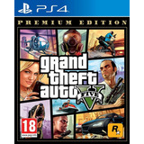 Jogo Grand Theft Auto V (gta 5) - Ps4 Premium Eddicion