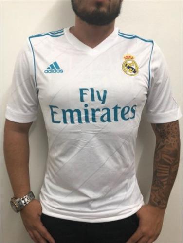 Camisa Real Madrid 2017 2018 Masculina adidas Promocao. R  149.99 b86a3ffb56