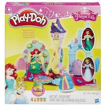 Play Doh Castelo Mágico Princesas Ariel E Cinderela - Hasbro