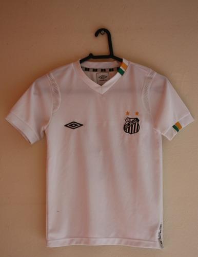 Camisa Santos Umbro 2011 Infantil 8 N°10  62 f96ecc31546ff