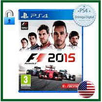 Formula 1 F1 2015 / Psn / Ps4 / Secundária / Mídia Digital