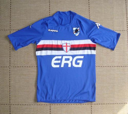 Camisa Original Sampdoria 2006 2007 Home 2b65ef36fda9d