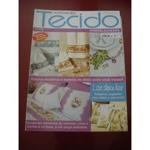Revista Pintura Em Tecido Porcelanizada Bambu Flores N°60