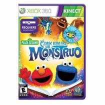 Jogo Xbox 360 Sesame Street Once Upon A Monster Original