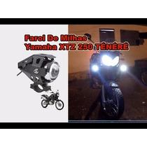 Farol Milha Led Auxiliar Neblina Moto Teneré, Xtz, Xre