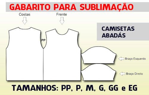 3dd68ab265 Molde Camiseta Sublimação R 22.9 pHVOD - Precio D Brasil