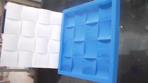 Formas De Silicone Para Placa Decorativa 3d Mod 27x27
