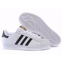 Tênis Adidas Superstar Foundation Feminino - Frete Grátis