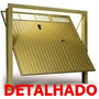 Projeto Portão Basculante - Detalhado - Frete Grátis + Brind