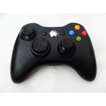 Controle Sem Fio Xbox 360 Slim Preto Fosco Feir