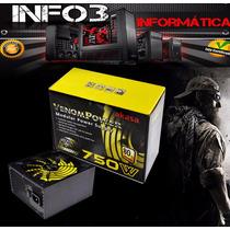 Fonte 750w Real Akasa Venom 80plus Pfc Ativo Modular Atx