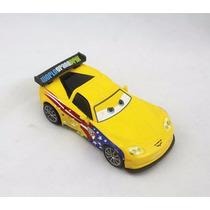 Disney Cars 2 Jeff Corvette Original Mattel Loose Mcqueen