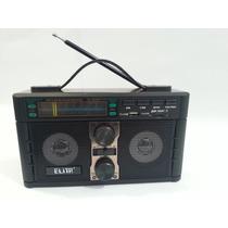 Caixa D Som Portátil Mp3 Entrada Usb Pen Drive Rádio Vintage
