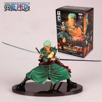 Estátua Zoro Novo Mundo - One Piece Importada Frete Grátis