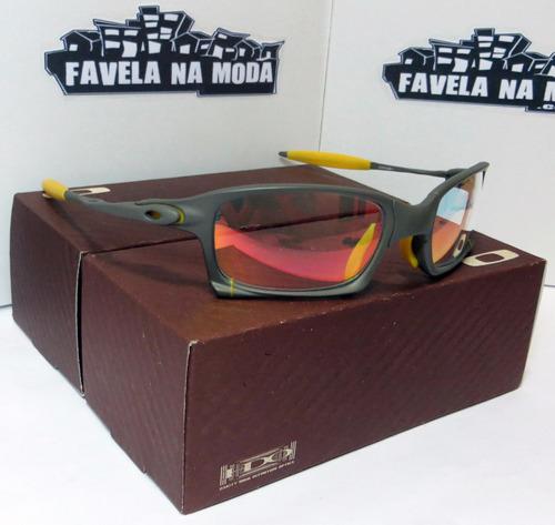 Óculos Oakley X-squared +caixa+saquinho+par De Lentes+brinde. R  199 0a9ece6b7d