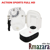 Filmadora Action Sports F10 Full Hd 1080p Tipo Gopro + 16 Gb
