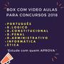 Como Passar Em Concurso Público  Vídeo Aulas