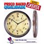 Relógio Parede Canto De Pássaros Brasileiros Herweg - 6658