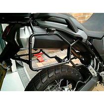 Par Suporte Lateral P/ Bau/bauleto Moto Yamaha Xt660z Tenere
