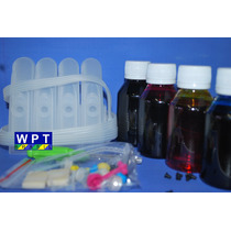 Bulk Ink Para Impressora Hp Photosmart D110a + 400ml Tinta