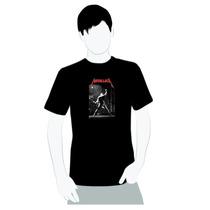 Camisa 100% Algodão- Metallica - Rock - Show - Clássicos
