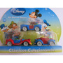 Disney Kit Diecast - 3 Carrinhos Mickey Pato Donald