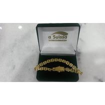 Pulseira De Ouro 18kl - Modelo Exclusivo - Linda