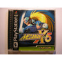 Jogo Playstation One Ps1 Mega Man X5 Completo Excelente Esta
