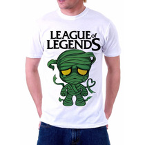 Camisa, Camiseta League Of Legends, Amumu