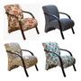 Poltrona Decorativa   Cadeira Sala  Quarto  Recepção.