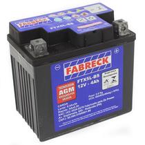 Bateria Selada Fabreck 4 Amperes Dafra Super 100 2008 A 2014