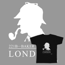 Camiseta Exclusiva London Sherlock Holmes Fransix Wear